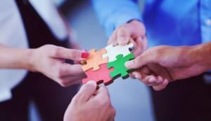 PPPs - Parceria Público-Privado (PPP), união, grupo, quebra-cabeça