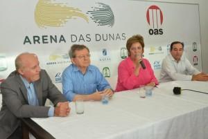 Demétrio e Rosalba em 2014: Secretaria Extraordinária (Foto: arquivo)