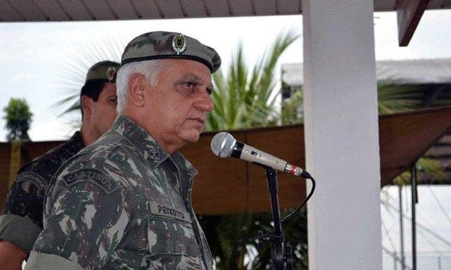 General da reserva Carlos Roberto de Souza Peixoto tinha importante cargo no governo (Foto: redes sociais)