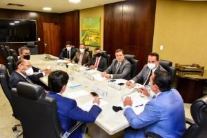 Deputados tiveram reunião hoje (Foto: João Gilberto)