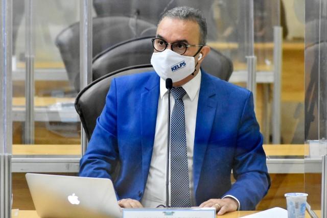 Kelps Lima compõe bancada da oposição (Foto: Eduardo Maia)