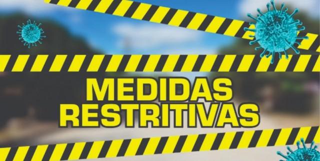 Medidas restritivas,, Covid-19,