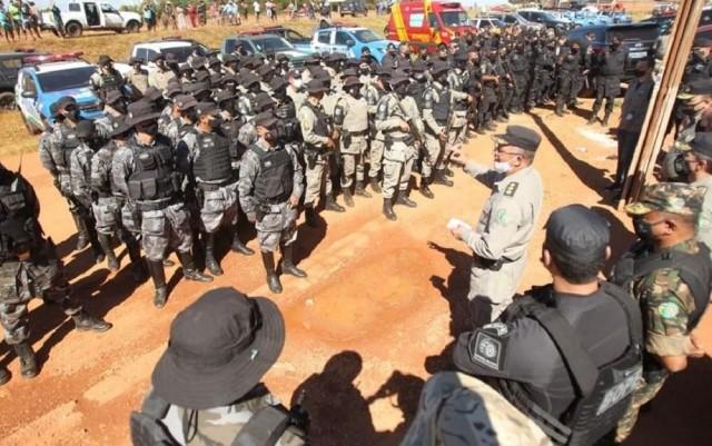 Cerca de 200 homens estão na caçada ao psicopata Lázaro Barbosa (Foto: web)