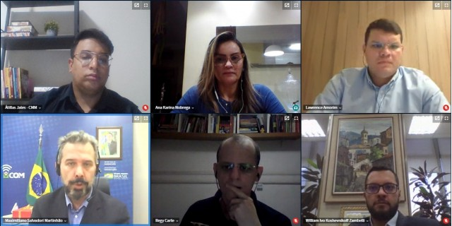 Reunião virtual ocorreu nessa terça-feira entre CMM e ministério (Foto: cedida)