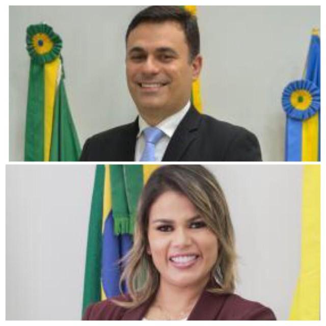 Ítalo de Brito Siqueira e Rhalessa Cledylane Freire dos Santos: presos (Fotos: CMP)