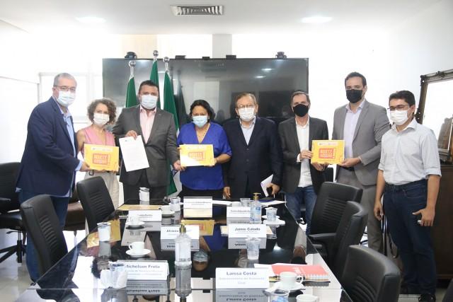 Governo e segmento produtivo de Mossoró firmaram alinhamento para importante promoção (Foto: Raiane Miranda)