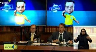 Live presidencial virou um vexame a mais (Foto: reprodução BCS)