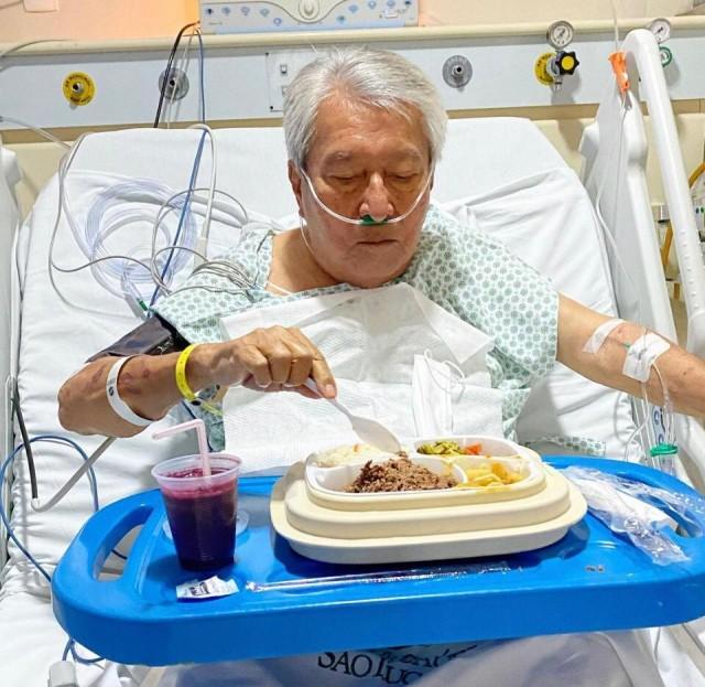 Edgardo passou por cirurgia à obstrução de artérias que estavam entupidas (Foto: Cyrus Benavides)