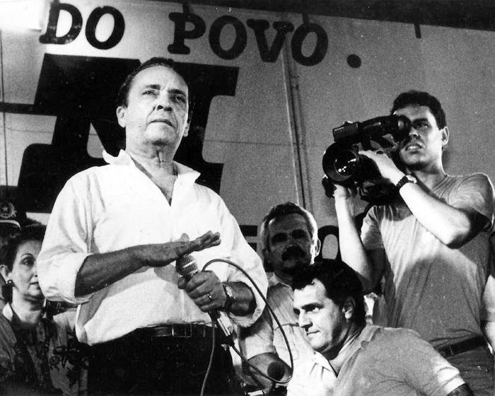 Gerealdo Melo em campanha 1986