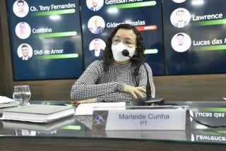 Marleide: desagravo (Foto: Edilberto Barros)