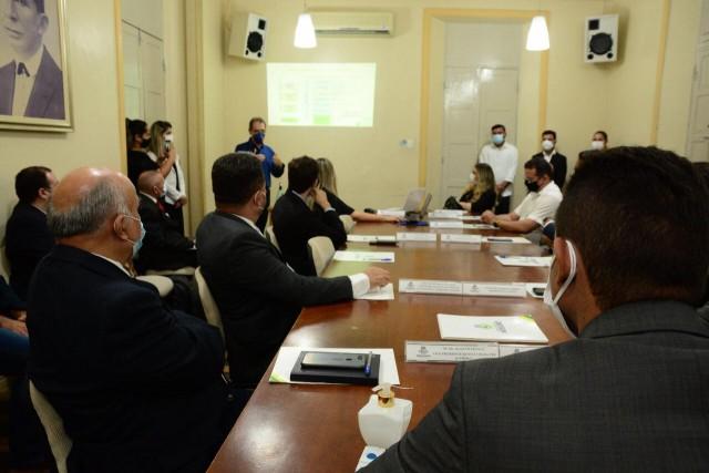 Apresentação e assinatura de protocolo em Mossoró aconteceu dia 9 de junho desse ano (Foto: PMM)
