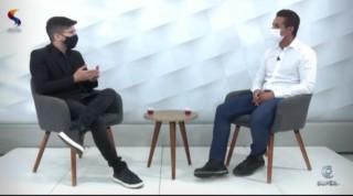 Saulo entrevistou prefeito na Super TV (Reprodução Canal BCS)