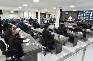 Votação ocorreu nessa quarta-feira (Foto: Edilberto Barros)