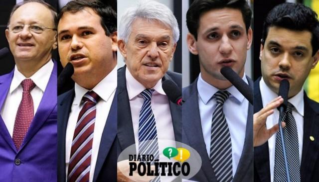 Benes, Beto, João, Rafael e Walter têm partidos sob controle absoluto