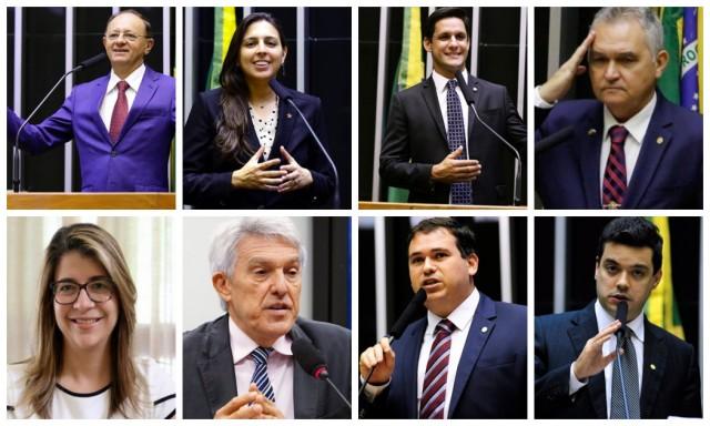 Maioria dos deputados do RN foi favorável ao processo de privatização (Fotomontagem do BSV)