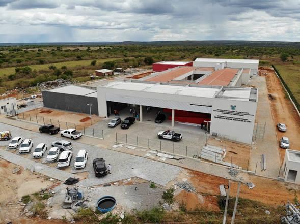 Centro Estadual de Educação Profissional e Tecnologia Professor Gilmar Rodrigues de Lima, no Distrito de Linda Flor, zona rural de Assu (Foto: Secom/RN)