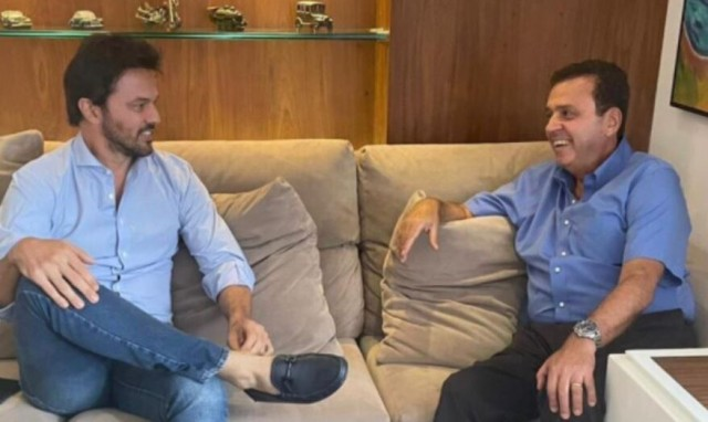 Fábio Faria e Carlos Eduardo tiveram recente encontro político (Foto: divulgação)