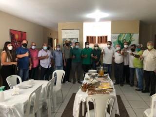 Henrique foi recepcionado por amigos em Jardim do Seridó (Foto: cedida)