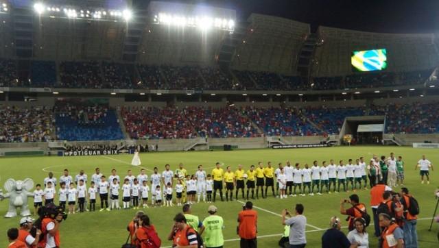 Arena foi inaugurado no dia 26 de janeiro de 2014 e até hoje é motivo de polemica (Foto: Augusto Gomes/arquivo)