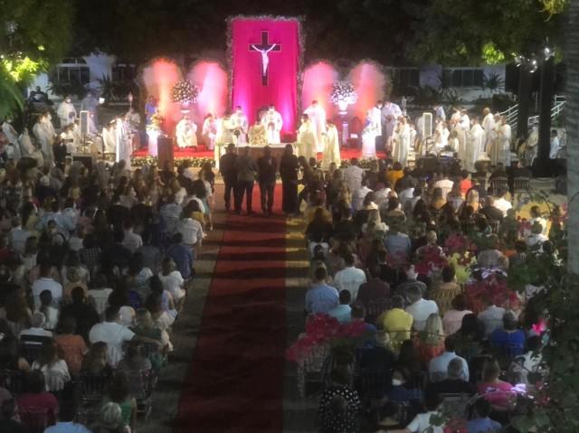 Missa em Ação de Graças por 10 anos de Ordenação Sacerdotal de Padre Charles Lamartine - 02-08-21- Foto 1