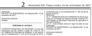 Nivaldo era cargo comissionado justamente onde houve furto do trator (Reprodução BCS)