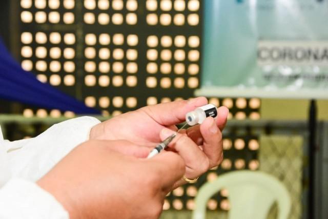 Vacinação tem sequência nessa segunda-feira, segundo informa a prefeitura (Foto: Célio Duarte)