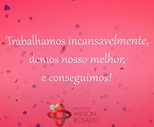 Wilson Rosado - mensagem zerando pacientes da Covid-19 - 06-08-21