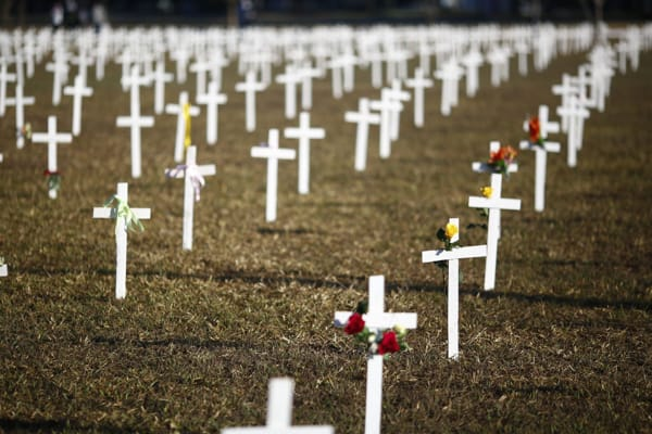 Mortes em massa parecem poucas até aqui (Foto: Sérgio Lima)