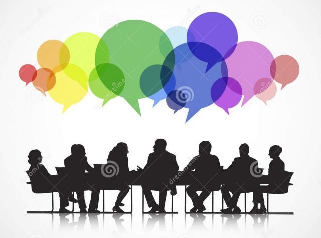 reunião, encontro, discussão,