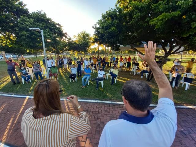 Mobilização deverá chegar à Governadoria, como anteriormente ocorreu (Foto: cedida)