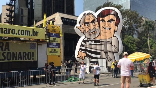 Luta por impeachment de Bolsonaro envolve Lula, mas o ex-presidente  está longe e fora dessa cruzada ((Reprodução Web)