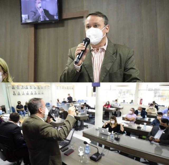 Felisardo mostrou as bases e primados da gestão contidos no PPA (Fotos: rede social)