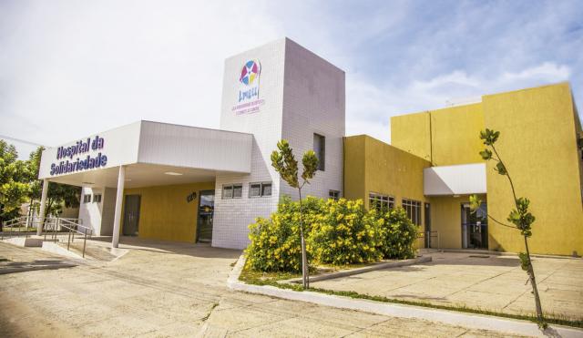 Hospital da Solidariedade, uma das unidades de atendimento da LMECC (Foto: cedida)