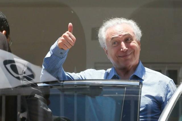 Michel Temer foi acionado por Bolsonaro e esteve em Brasília para articular pacificação (Foto: Daniel Ferreira/Metrópoles)