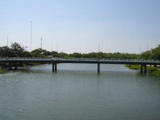 Rio Apodi-Mossoró no centro da cidade de Mossoró (Reprodução)