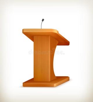 Tribuna, parlamento, fala, orador