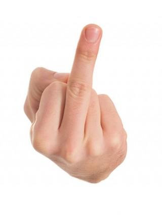 dedo médio e obsceno